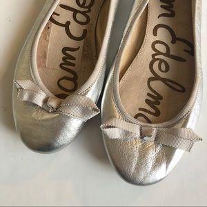 Sam Edelman Shoes - Sam Edelman metallic flats